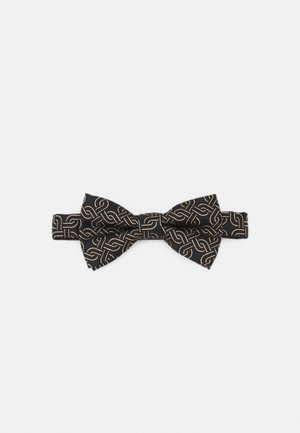 AINSLEY BOWTIE - Bow tie - black/gold