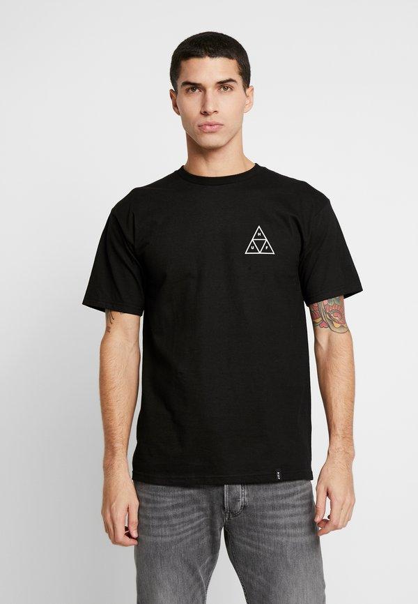 HUF COMICS TEE - T-shirt z nadrukiem - black/czarny Odzież Męska FBVJ