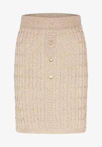 faina - Mini skirt - gold - 4
