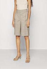 ARKET - Shorts - oat melange - 0