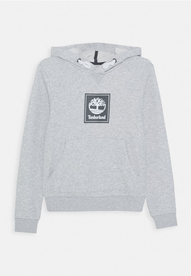 HOODED  - Hoodie - chine grey