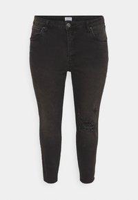 Cotton On Curve - ADRIANNA HIGH - Skinny džíny - black - 0