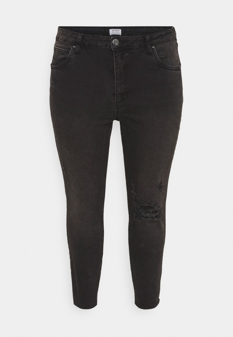Cotton On Curve - ADRIANNA HIGH - Skinny džíny - black