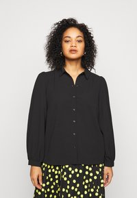 Vero Moda Curve - VMAYA - Button-down blouse - black - 0