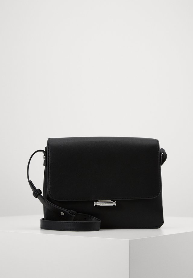 RETRO SHOULDER BAG - Sac bandoulière - black
