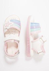 Geox - BLIKK GIRL - Sandals - white - 1
