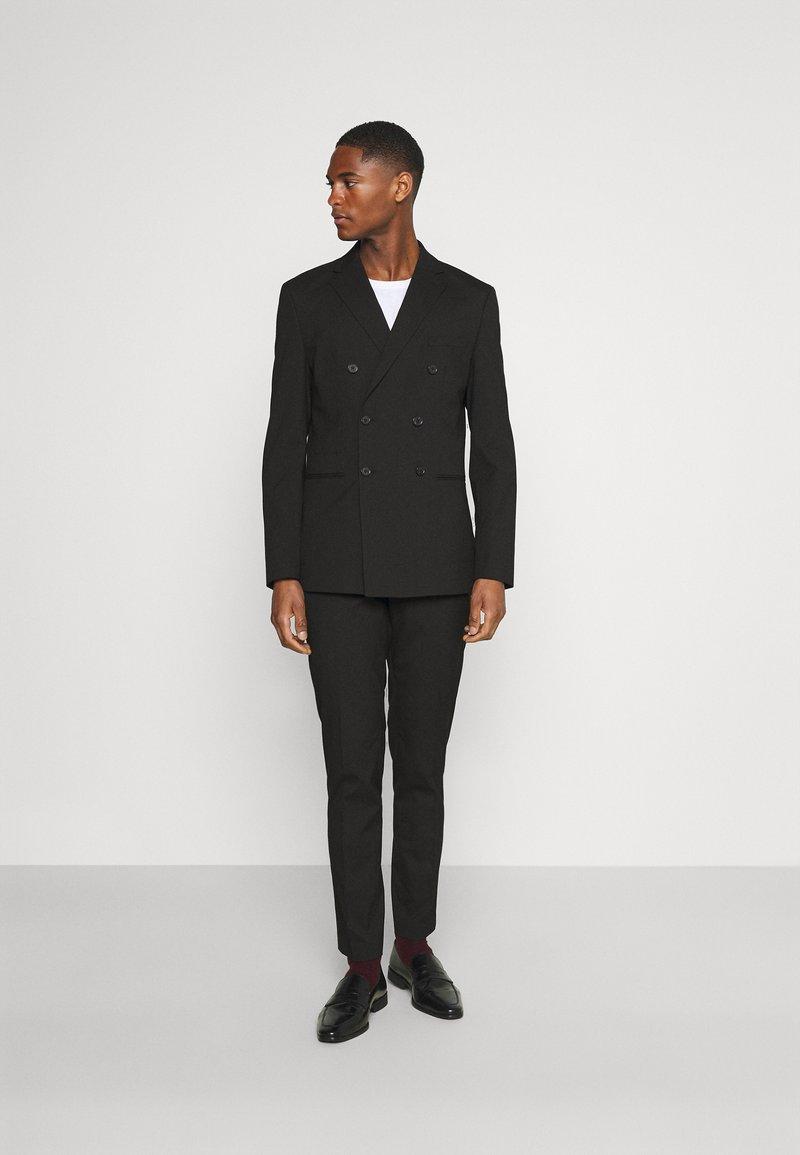 Selected Homme - SLHSLIM MAZELOGAN SUIT - Oblek - black
