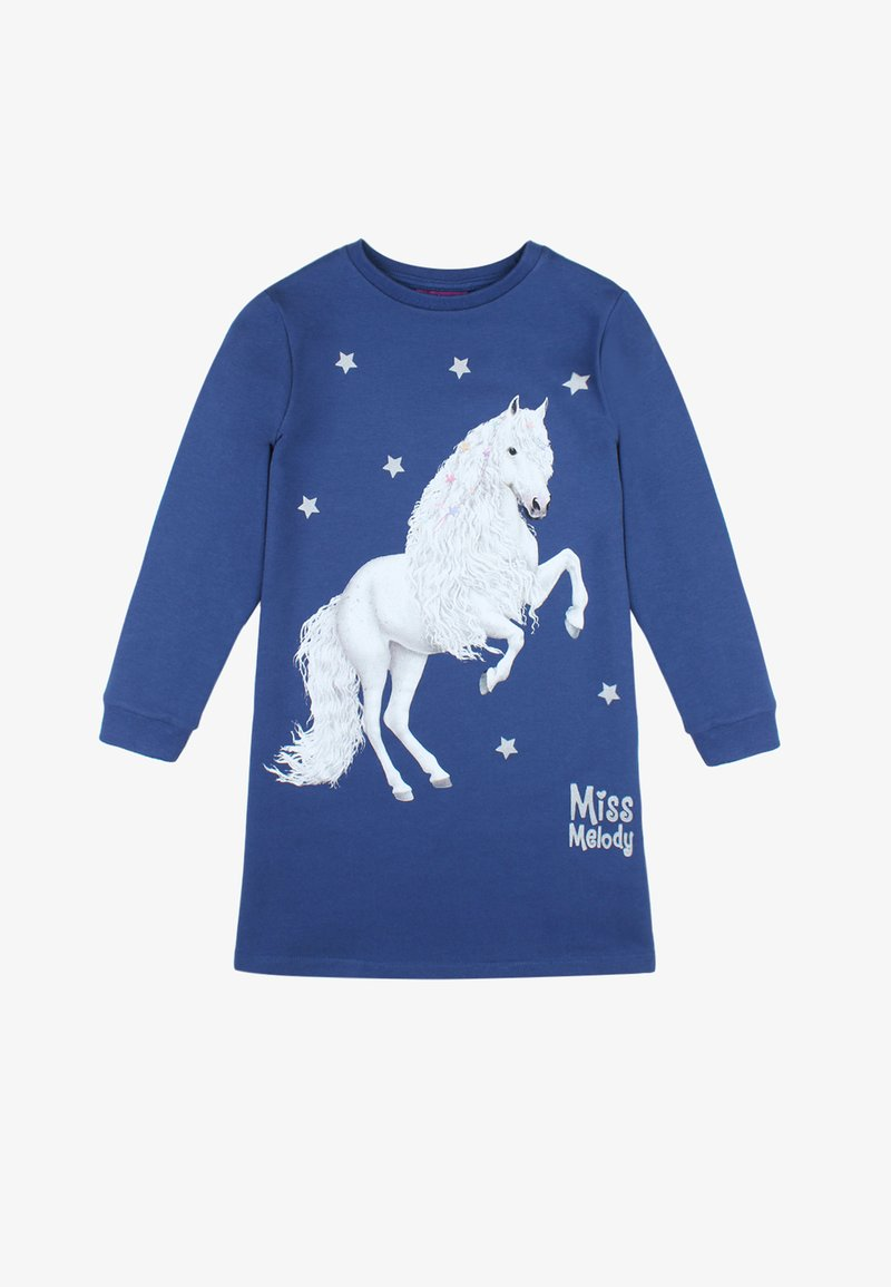 Miss Melody - MISS MELODY - Jersey dress - twilight blue