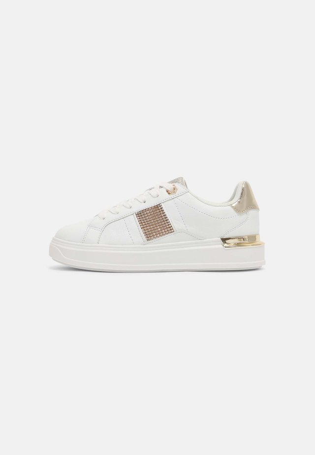 RHODES - Sneakers laag - white/gold