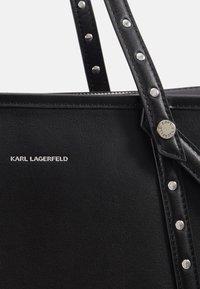 KARL LAGERFELD - KABAS TOTE - Bolso shopping - black - 4