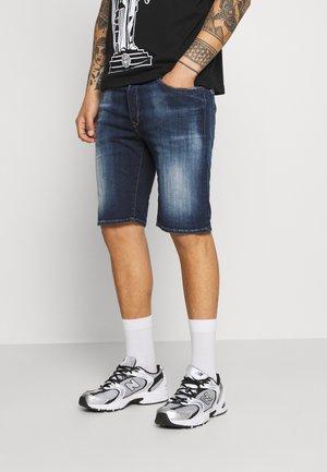HYPERFLEX - Denim shorts - dark blue