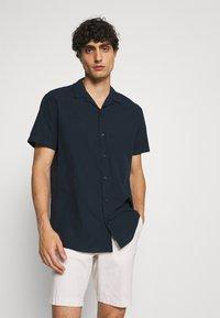 Selected Homme - SLHREGNEW  - Košile - navy blazer - 0