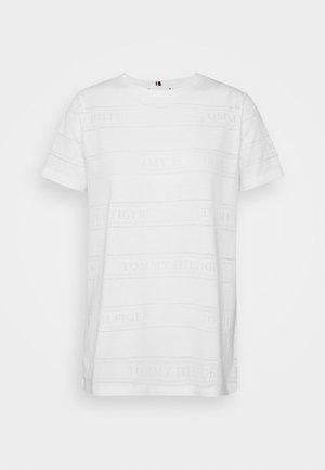 VIOLA - T-shirt med print - white