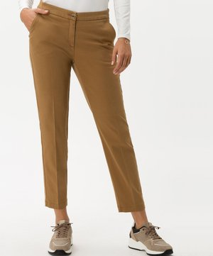 STYLE MARON - Pantalon classique - walnut