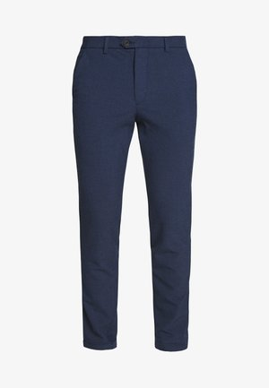 JJIMARCO JJCONNOR SOLI - Pantalon classique - navy blazer