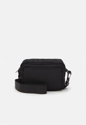 Across body bag - black dark