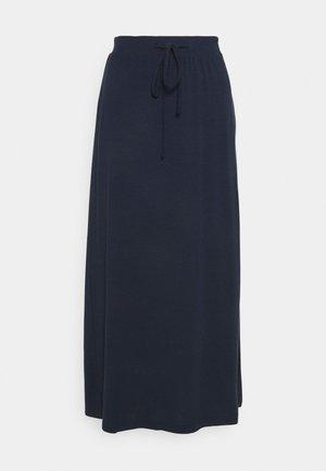 VMAVA ANCLE SKIRT - Maxi skirt - navy