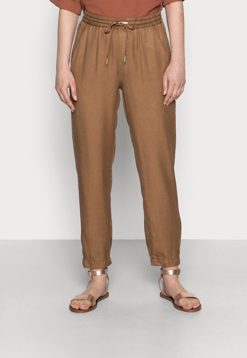 Opus - MABOU - Trousers - maple