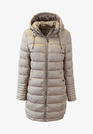 Winter coat - steingrau