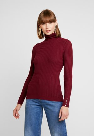 ROLL - Pullover - dark burgundy