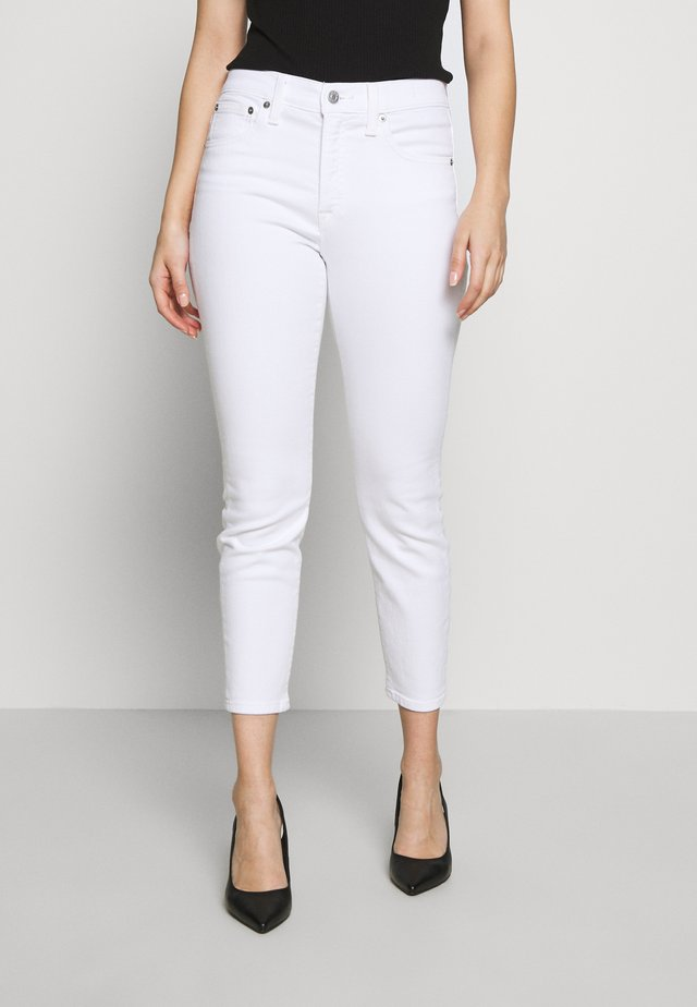 LOOKOUT HIGH RISE JEAN - Jeans straight leg - white