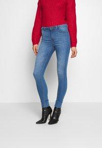 JDY - JDYNIKKI HIGH - Jeans Skinny Fit - light blue denim - 0