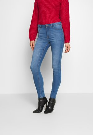 JDYNIKKI HIGH - Jeans Skinny Fit - light blue denim