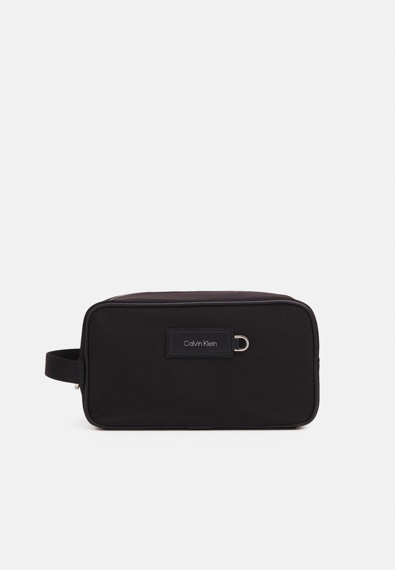 Calvin Klein - URBAN UTILITY WASHBAG UNISEX - Wash bag - black