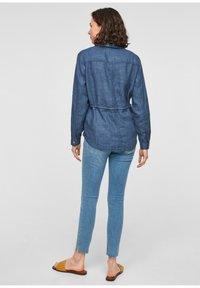 s.Oliver - Denim jacket - mottled dark blue - 2