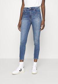 Abercrombie & Fitch - STAR - Jeans Skinny Fit - indigo - 0