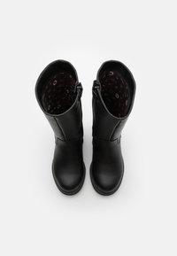 Gioseppo - Kovbojské/motorkářské boty - black - 3
