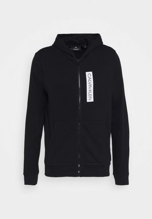 FULL ZIP HOODED  - Mikina s kapucí - black