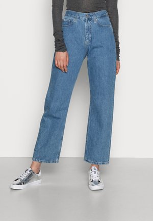 STRAIGHT ANKLE - Jeans relaxed fit - denim light