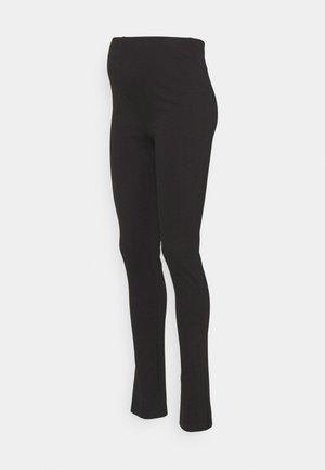 MLELAINE SLIT - Leggings - Trousers - black