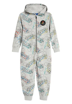 GREY PLAYSTATION SWEAT ALL-IN-ONE (3-16YRS) - Pyjamas - grey