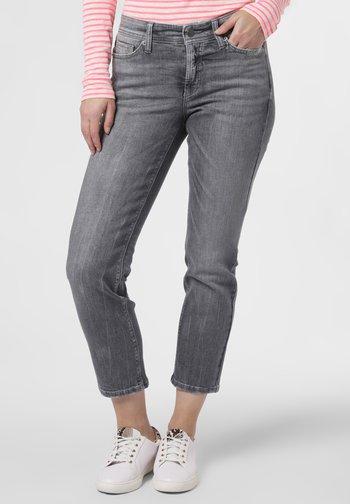 Slim fit jeans - silber