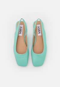 ASRA - FRENCHIE - Slingback ballet pumps - jungle mint - 5