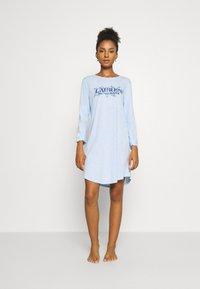 Lauren Ralph Lauren - SLEEPSHIRT - Camicia da notte - blue - 0