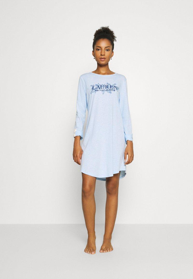 Lauren Ralph Lauren - SLEEPSHIRT - Camicia da notte - blue