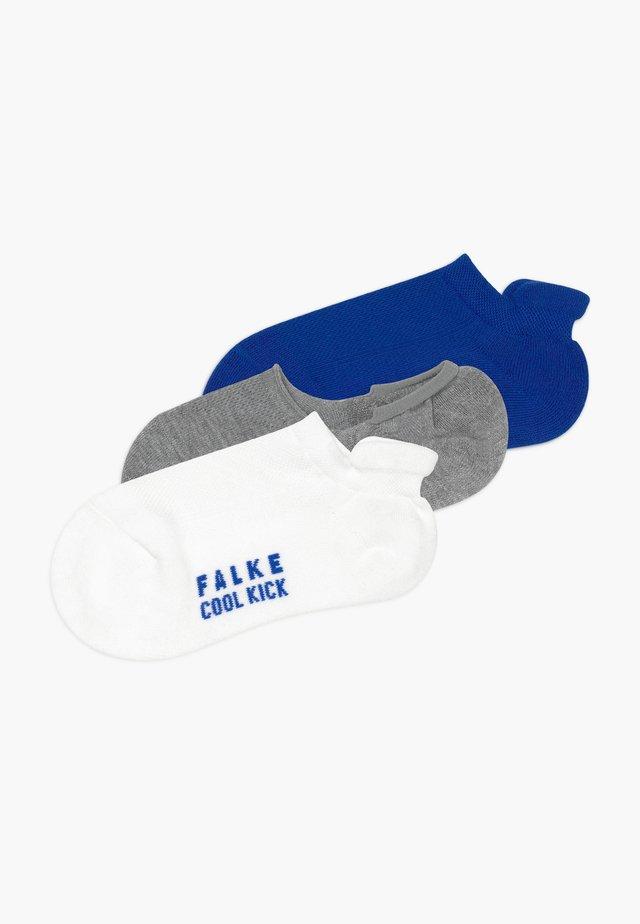 COOL KICK 3 PACK - Ponožky - white/grey