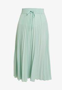 Miss Selfridge - PLEATED ELASTICATED WAIST - A-snit nederdel/ A-formede nederdele - green - 4