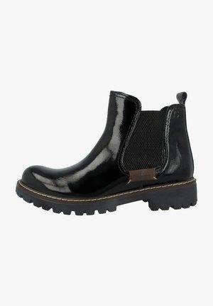 Ankle boots - black combi