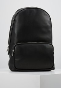 Calvin Klein - PUNCHED ROUND  - Rucksack - black - 0