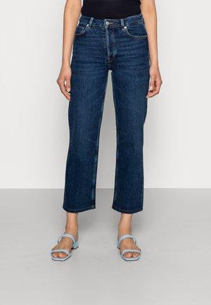 SLFKATE INKY - Straight leg jeans - medium blue denim