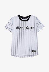 Modern Native - TEE WITH SCREEN PRINT - T-shirts print - white - 2