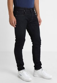 G-Star - 3301 SLIM - Slim fit jeans - visor stretch denim rinsed - 0
