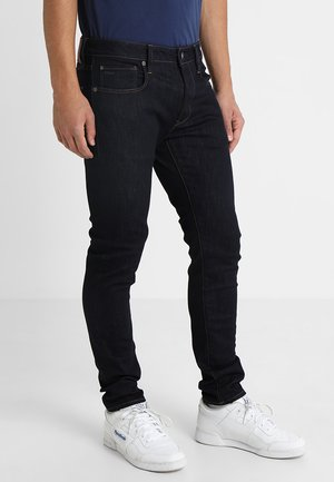 3301 SLIM - Jean slim - visor stretch denim rinsed