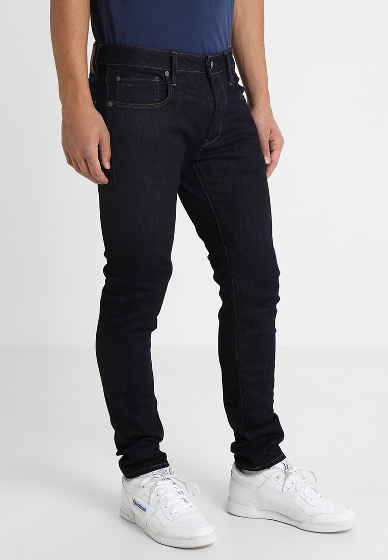 G-Star - 3301 SLIM - Slim fit jeans - visor stretch denim rinsed