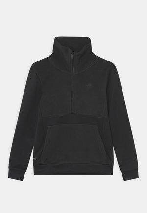 HALF ZIP UNISEX - Sweatshirt - black
