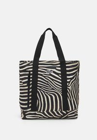 Lacoste - Tote bag - black/white - 0